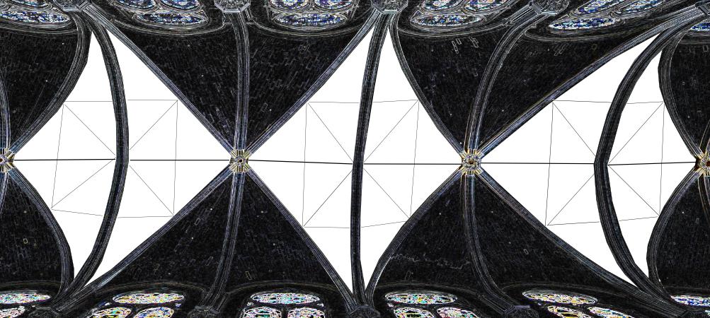 Ipotesi idea progetto ricostruzione copertura Notre-Dame